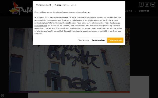 PubliCréa, Créateur d'enseigne à Perpignan, réalise toute enseigne publicitaire et signalétique