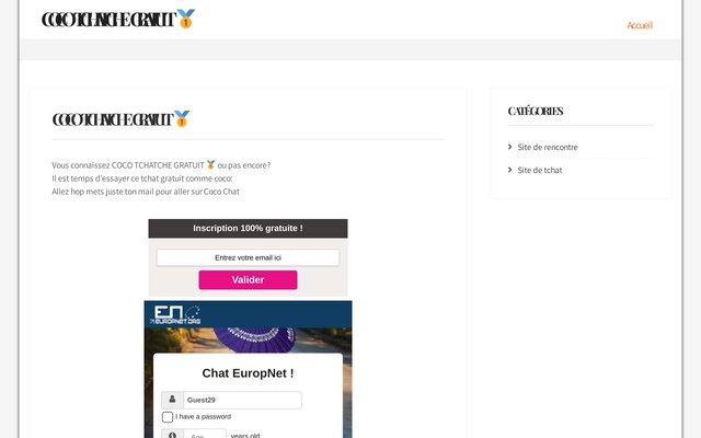 Chat gratuit sans inscription et rencontres francophones Thcatcheur