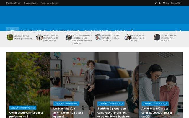 Villeseducatrices.fr : Portail d'actualité sur l'éducation