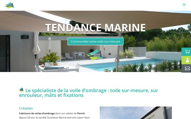 Boutique en ligne voile-tendance.fr
