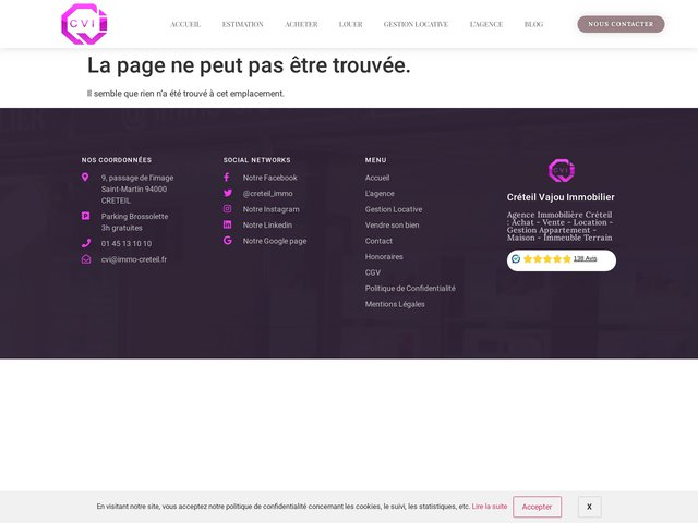 Agence immobiliere cvi
