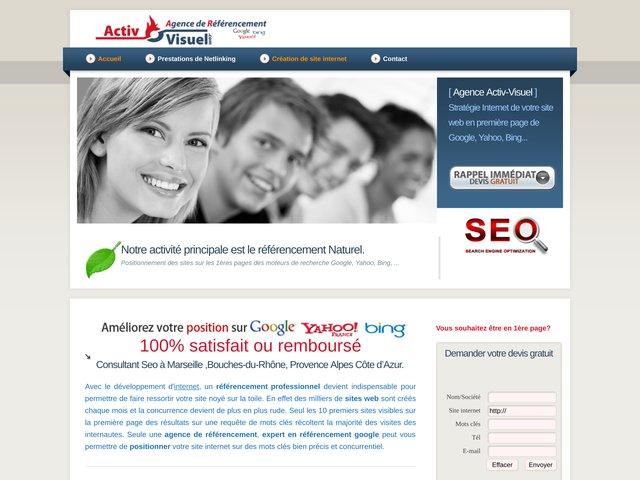 activ-visuel.com: société de référencement stratégique