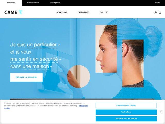 CAME Loire Océan, automatisme de fermeture