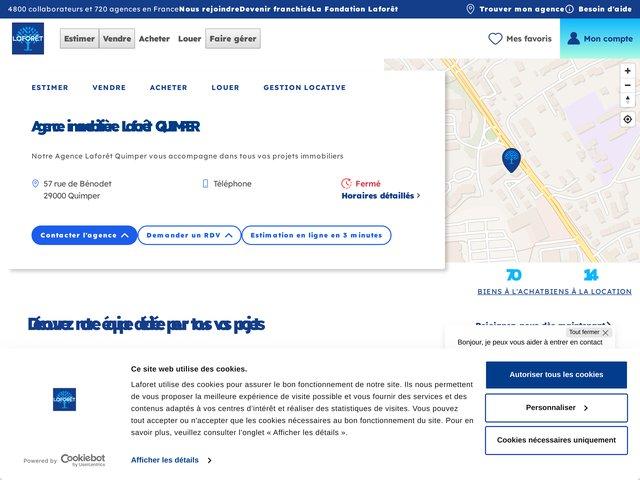 Agence immobilière Laforêt de Pont l'Abbé