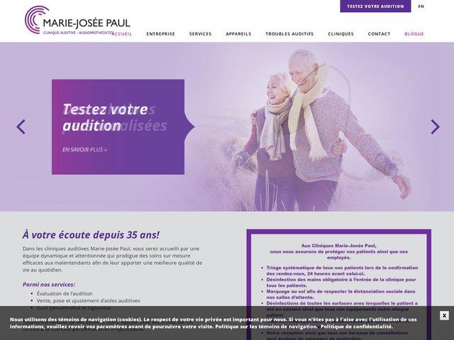 Les cliniques auditives Marie-Josée Paul