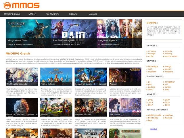 MMOs.fr - Communauté spécialisé dans les MMO gratuit