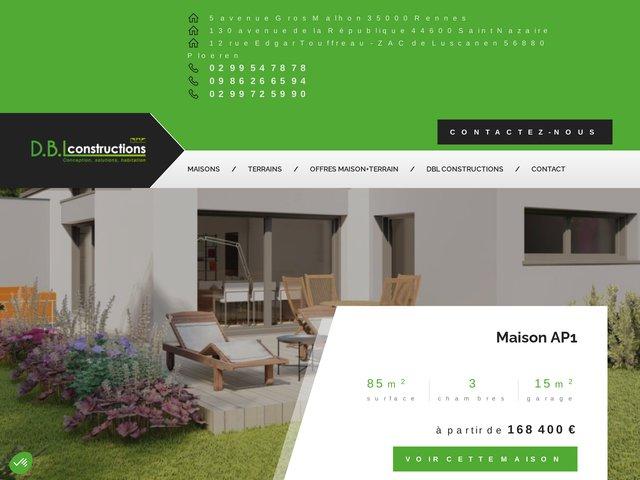 DBL Constructions : contructeur de maison à Rennes et Saint-Nazaire