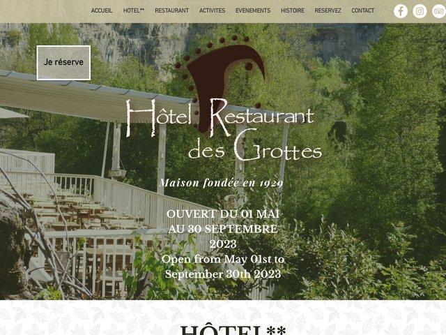 Restaurant Hôtel des grottes à Cabrerets (46)
