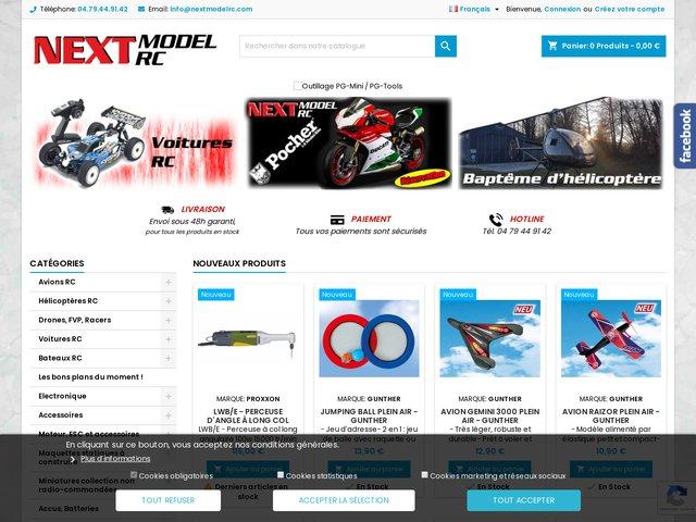 Next Model, votre boutique de répliques radiocommandées