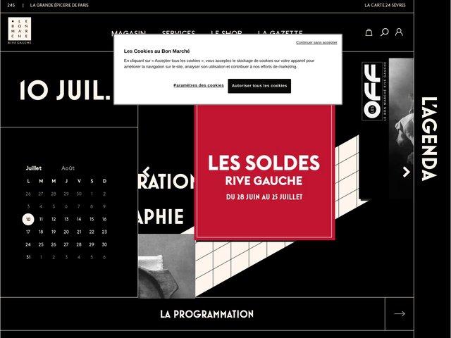 Le Bon March width=