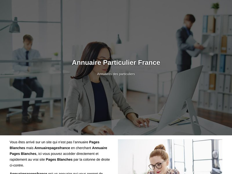 Annuaire pages blanches - Annuaire Pages de France - Population