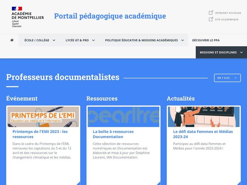 Accueil | Esp@ce doc