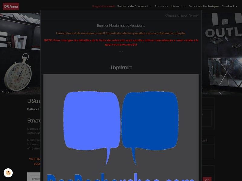 DR Annu | Le Référencement du web pro..!