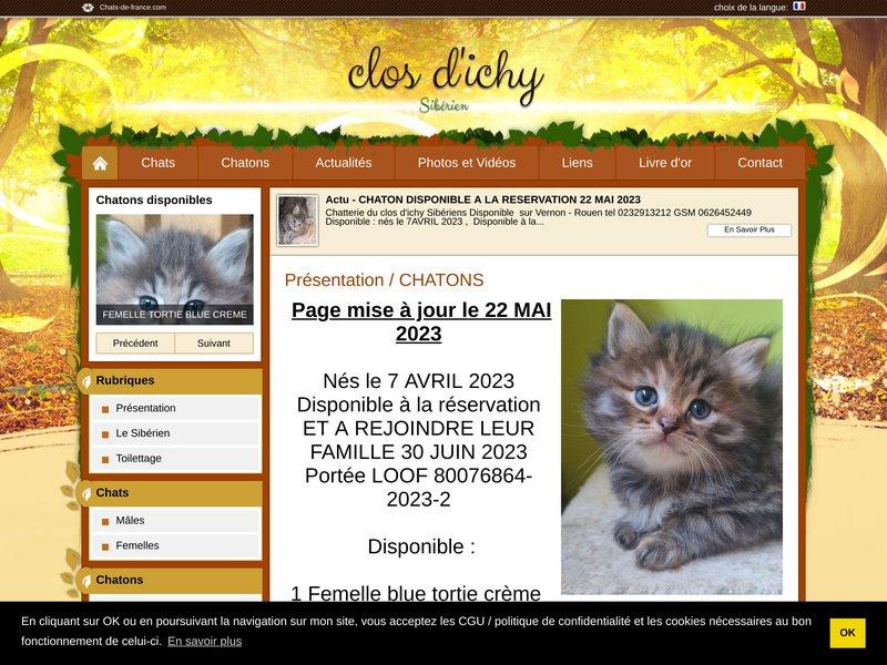 Chatterie du Clos d'Ichy