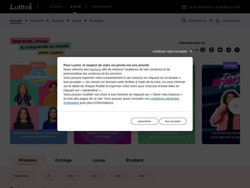 francetv éducation - la plateforme des parents, élèves et enseignants