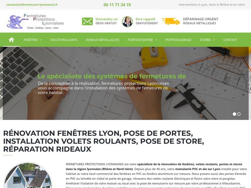 installation de fermetures sur mesure dans le Rhône et l'Isère