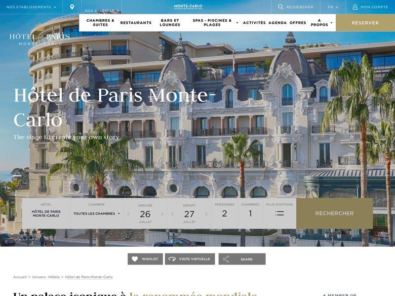Hôtel de Paris Monte-Carlo *****