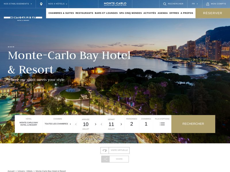 Monte-Carlo Bay Hotel and Resort ****