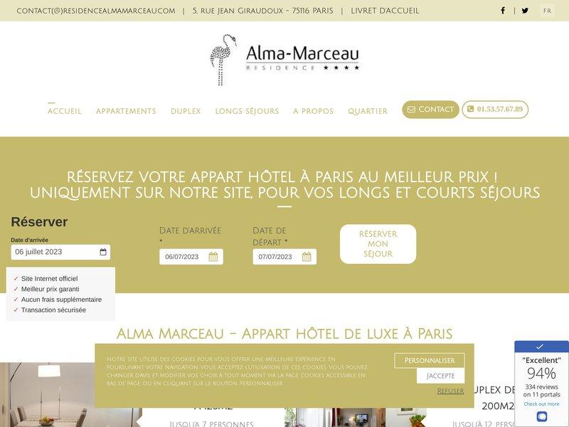 Résidence Alma Marceau ****