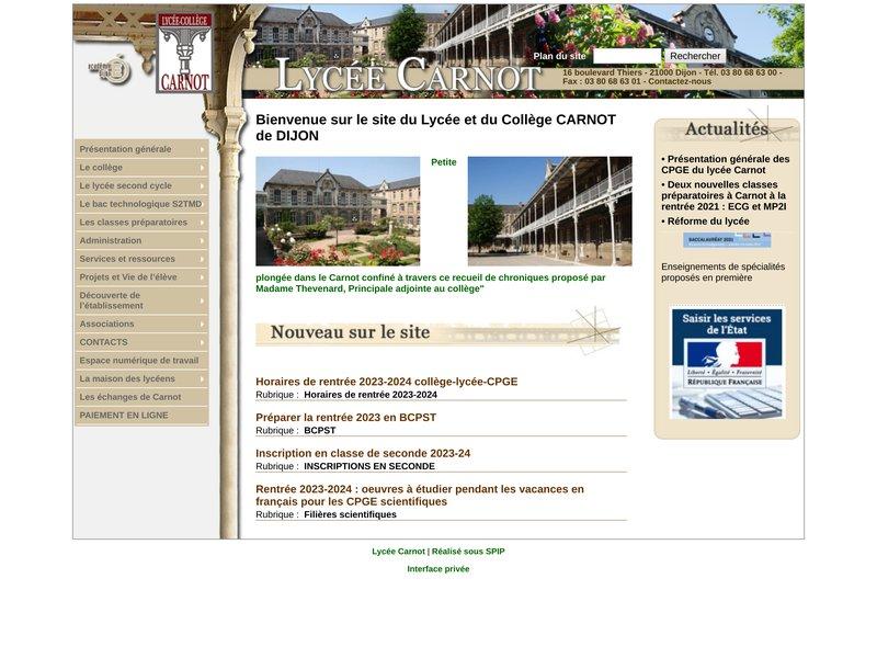 Lycée Carnot (Dijon)