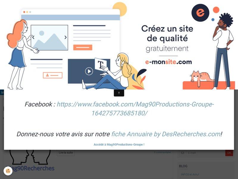 Mag90Productions-Groupe - Le meilleur des sites..