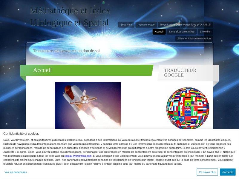 Médiathèque et Index Ufologique et Spatial