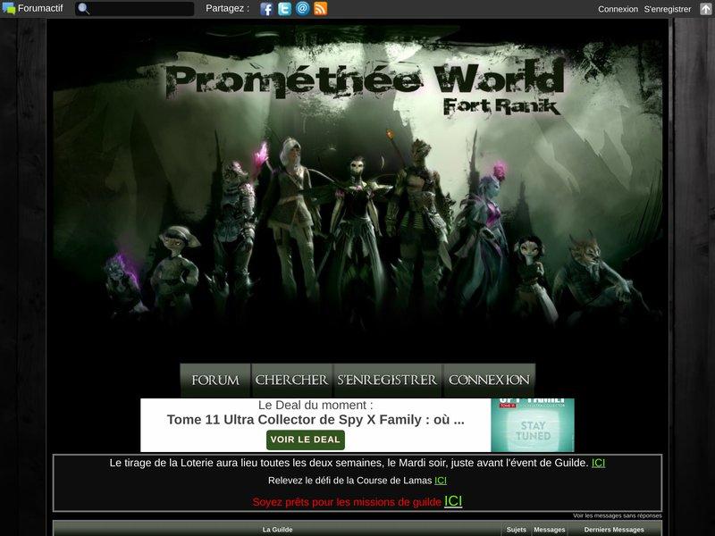 [PmW] Prométhée World