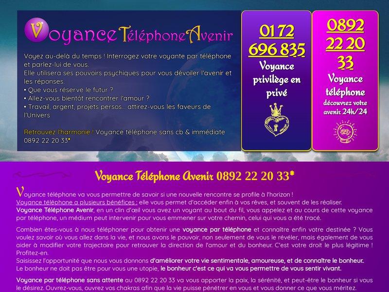 Voyance Retour Amour 0892 22 20 33