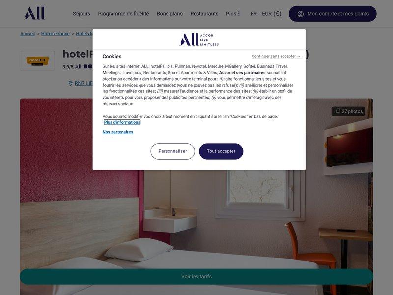 Hôtel F1 * d'Aix en Provence - Meyreuil -