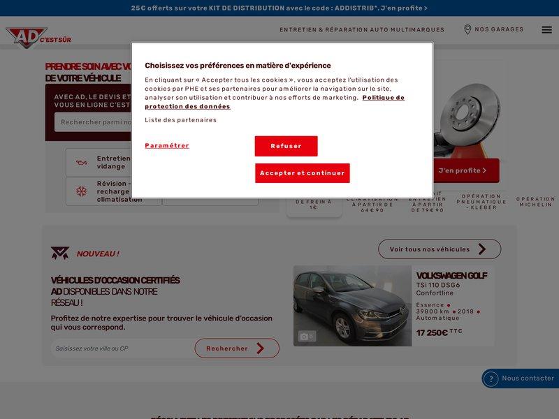 Accueil - AD Auto – Garages et Carrosseries AD