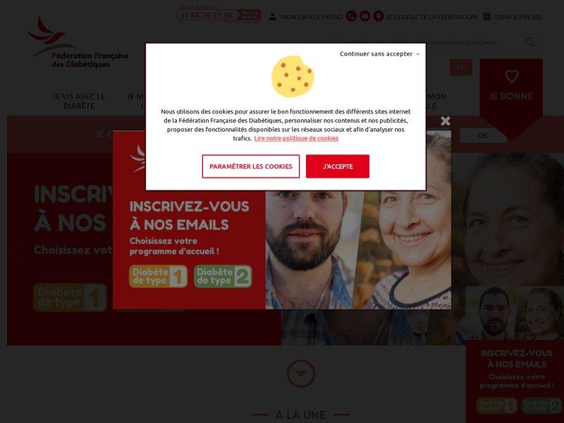 Diabète - Association Française des Diabétiques - AFD