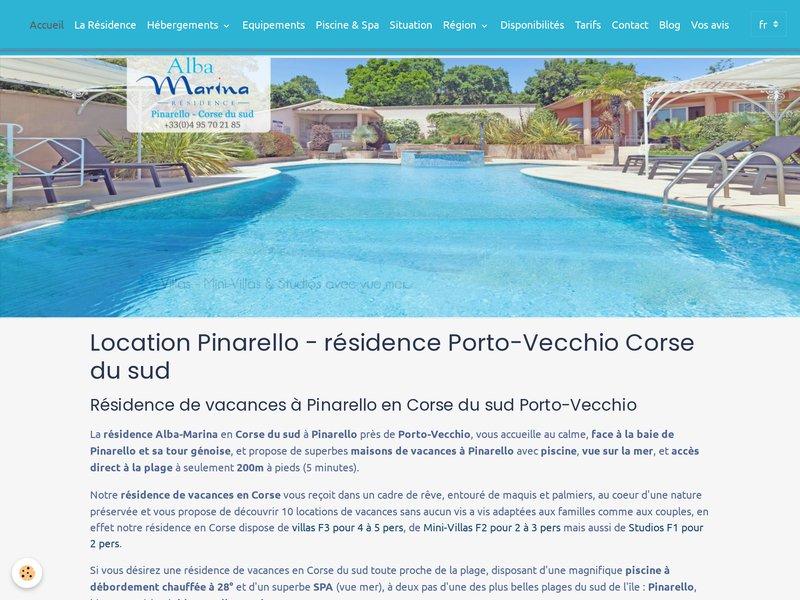 Résidence Alba-Marina Pinarello Plage