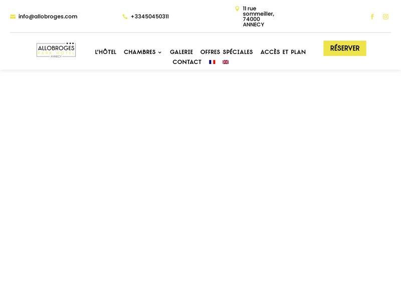 Hôtel  Allobroges Park Hôtel ***