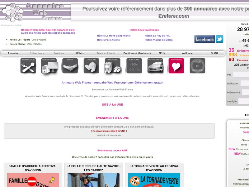 Annuaire Web France