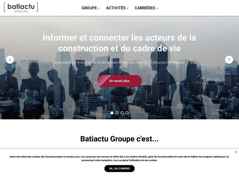 Accueil | Batiactu Groupe