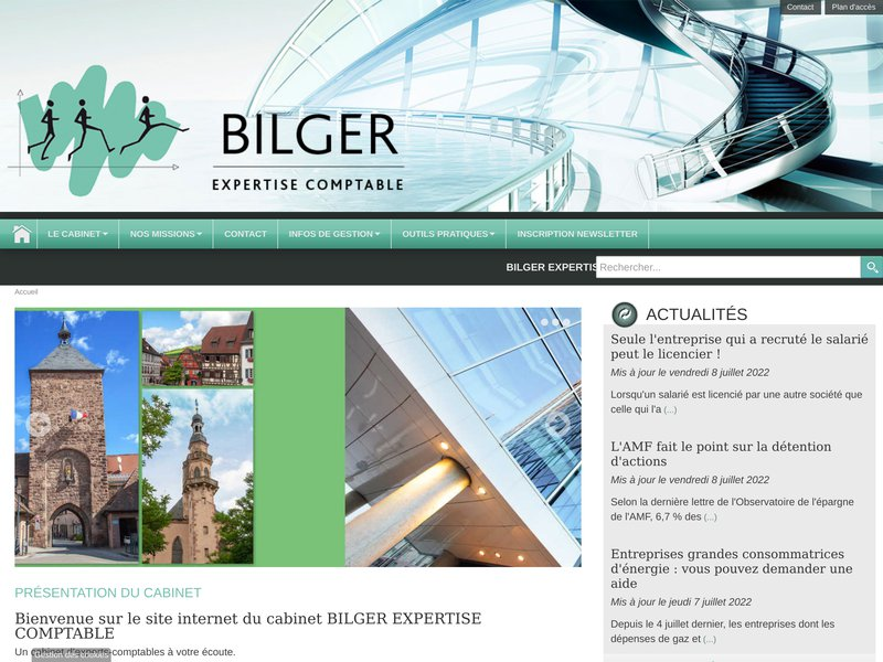BILGER EXPERTISE COMPTABLE SAS - Expert comptable à Molsheim