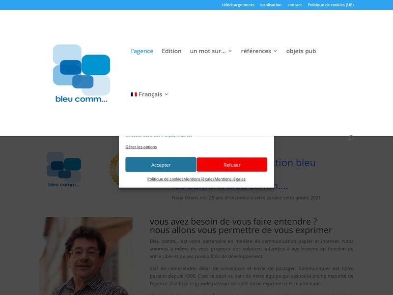 bleu comm..., agence de communication à Wasselonne