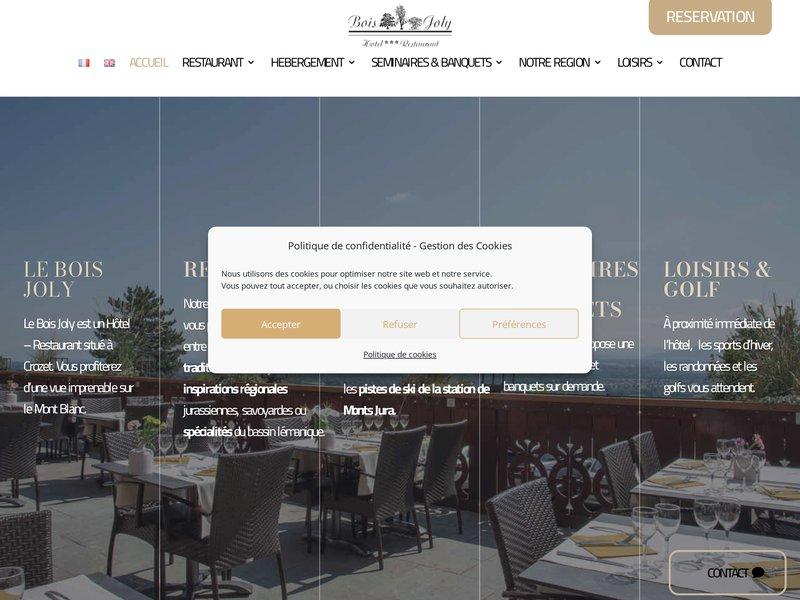 Hôtel - Restaurant Bois Joly **