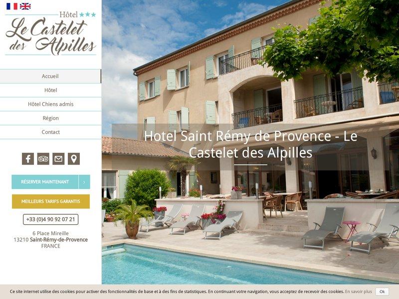 Hôtel Le Castelet des Alpilles ***