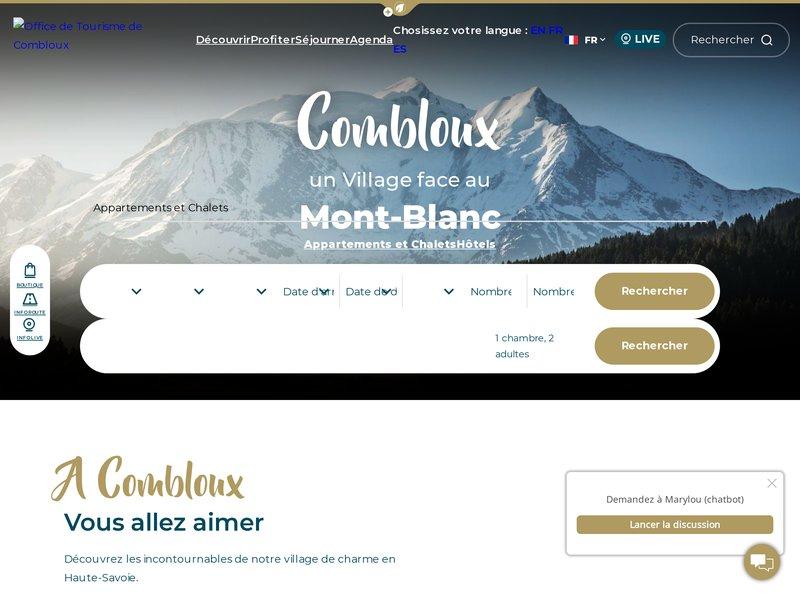 Office de Tourisme de Combloux Mont-Blanc