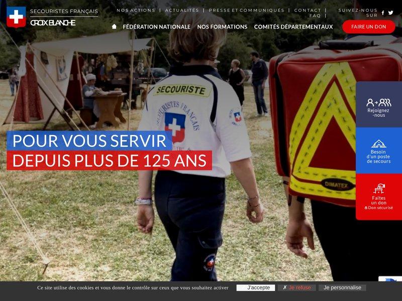 Fédération des Secouristes Français Croix Blanche