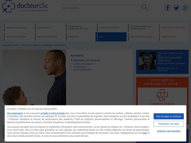 DOCTEUR CLIC - AUTORITE
