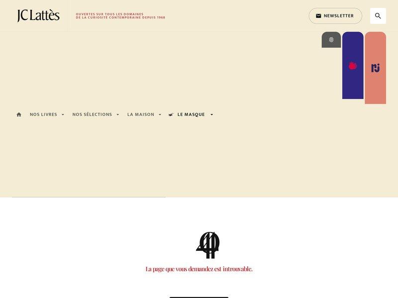 Editions JC Lattes