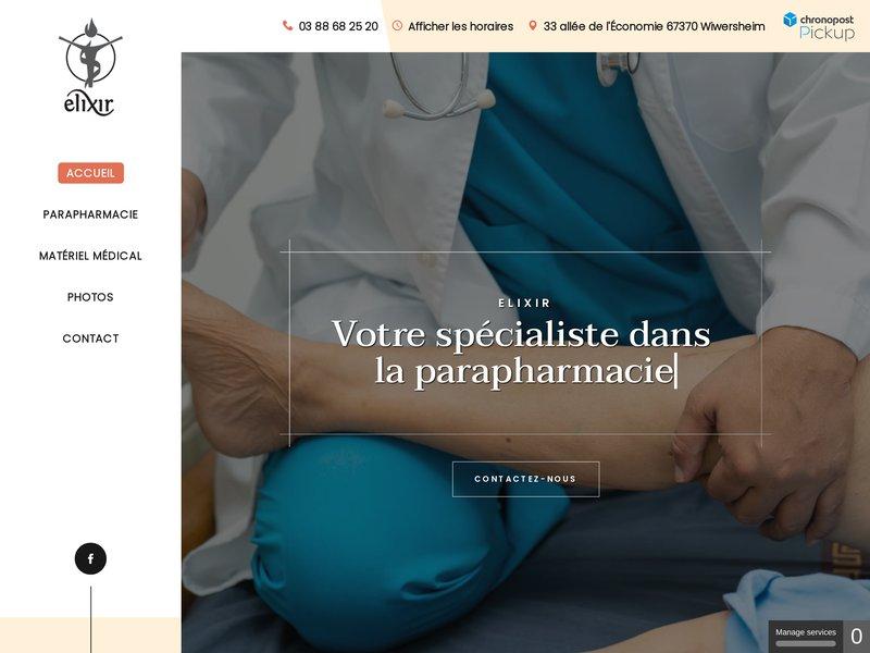 Elixir | Parapharmacie, Orthopédie, Spa, Massages