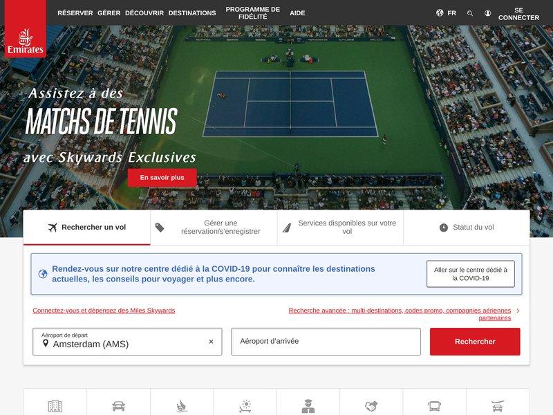 Billets d'avion pas chers avec Emirates