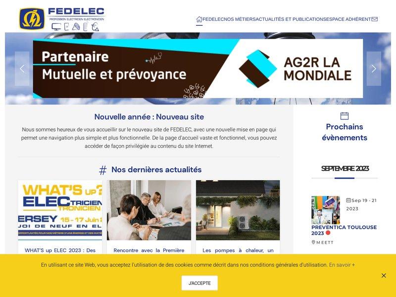 Fedelec fédération des électriciens électroniciens