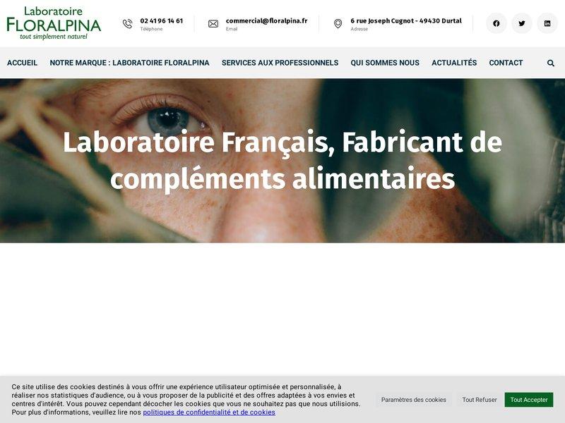 Floralpina, fabricant compléments alimentaires