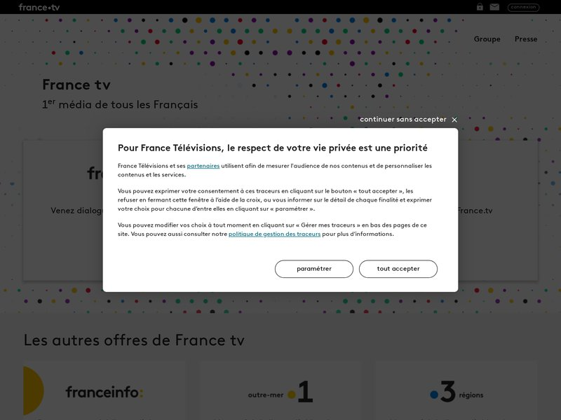 France Televisions - Site du groupe de media N°1