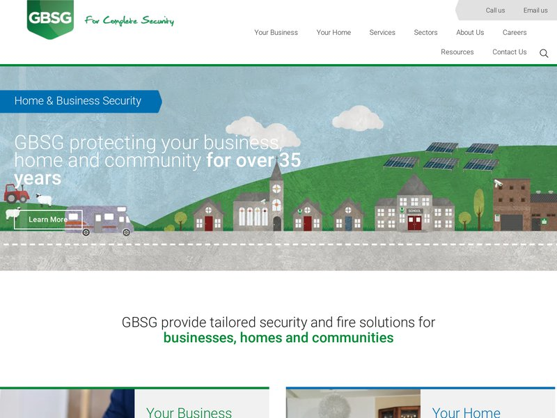 GBSG - CCTV & Security   Tailored Security Specialists  -