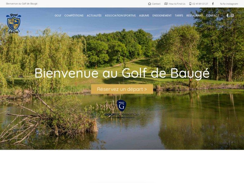 Golf de Baugé-Pontigny